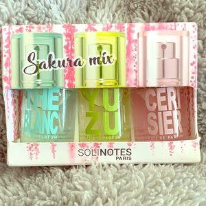 New, Solinotes Paris Sakura mix trio